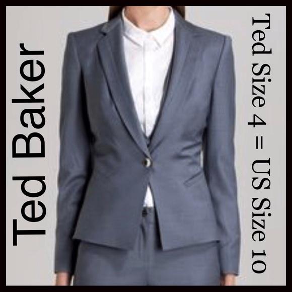 7f046676a NWT Ted Baker London Shiny Suit Jacket Blazer